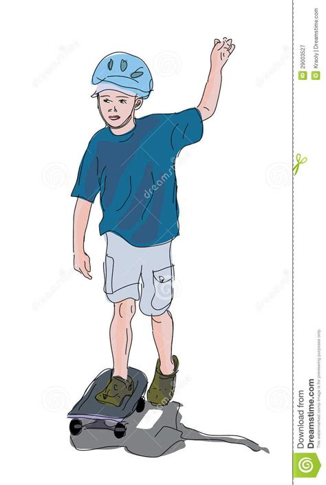 how to your to ride a skateboard boy learning to ride a skateboard royalty free stock photography image 29003527
