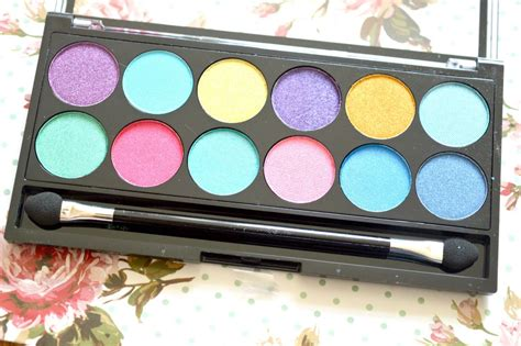 Review And Giveaway - mua poptastic eyeshadow palette review and giveaway