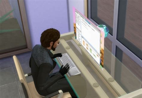 holographic computer by esmeralda at mod the sims 187 sims 4