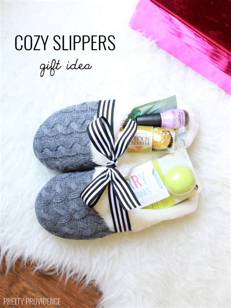 gift set ideas slippers gift idea