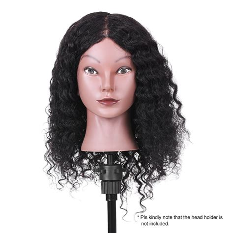 100 Real Hair Mannequin by 15 Quot 100 Real Hair Mannequin Curly Hair Salon