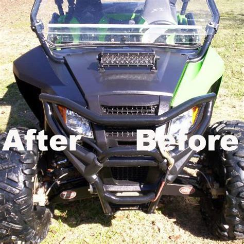arctic cat wildcat trail front fender conversion kit awesomeoffroadcom
