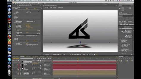 tutorial after effect text 3d after effects tutorial advanced 3d text intro youtube
