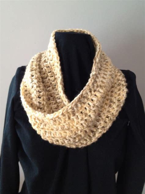 crochet single loop mobius scarf coast to coast crafts