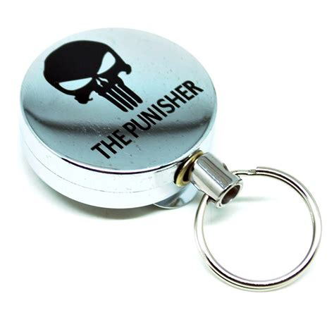 Keyhook Keychain Gantungan Kunci high resilience rope anti thief key chain gantungan kunci model 3 silver