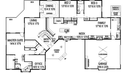 8000 square foot house plans european style house plan 4 beds 3 00 baths 7040 sq ft