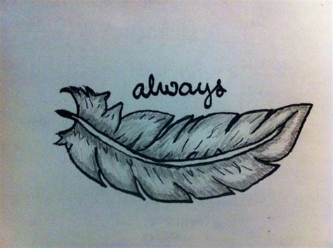feather tattoo designs tumblr feather drawing on tumblr