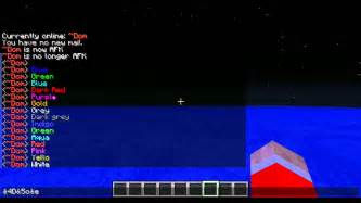 colors in minecraft minecraft bukkit chat and nick colour codes