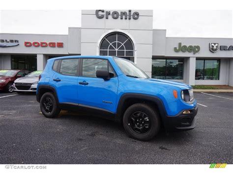 jeep renegade blue 2015 sierra blue jeep renegade sport 103241080 gtcarlot
