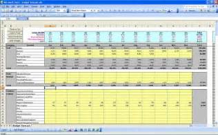 p l spreadsheet template profit and loss profit and loss template