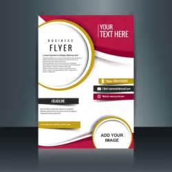 design a flyer template flyer vectors photos and psd files free