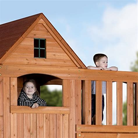 Backyard Discovery Pacific View Backyard Discovery Pacific View All Cedar Wood Playset