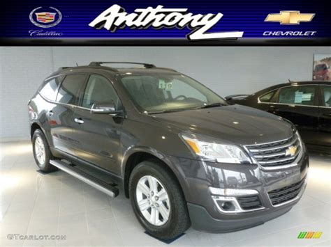 what color is tungsten metallic 2013 tungsten metallic chevrolet traverse lt awd 72945952
