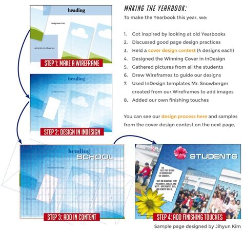 Gpa Yearbook 2015 16 Aaron Indesign Wireframe Template