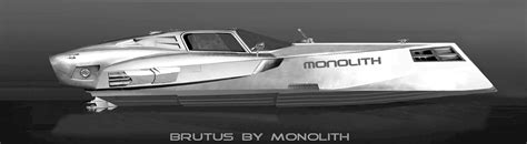 motor boat design yacht concept monolith boat by killdogme decatoire at