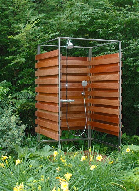 how to make an outdoor bathroom 3 good reasons for runners to build an outdoor shower