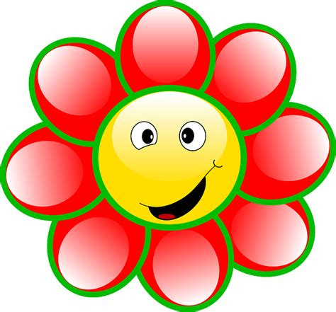 emoji bunga layu gambar vektor gratis smiley bunga wajah gufi senyum