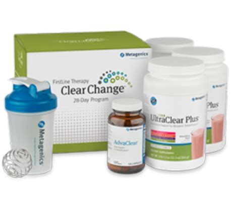 Buy Metagenics 10 Day Detox by Clear Change 28 Day Program With Ultraclear Renew Metagenics