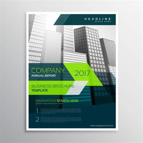 company brochure templates free modern company brochure template with grey skyscrapers