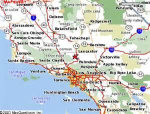 palmdale california map k6lma