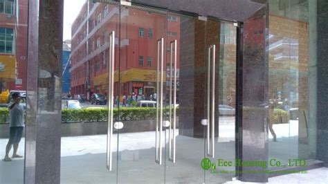 Commercial Exterior Doors With Glass Aliexpress Buy 12mm Tempered Glass Commercial Frameless Glass Doors Manufacturer