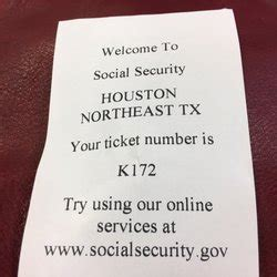 Social Security Office In Houston by Social Security Administration 39 Reviews