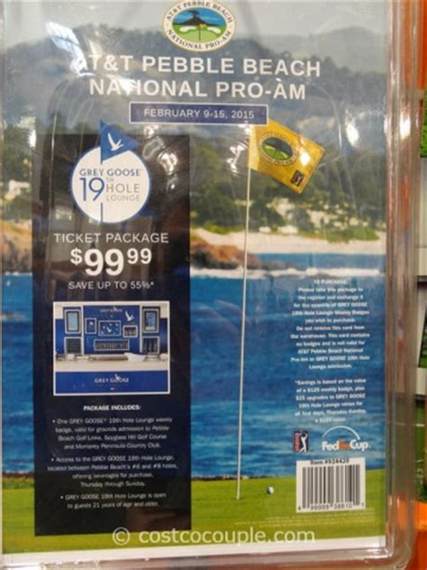 at t 2015 pebble beach national pro am gift card - Pebble Beach Gift Card