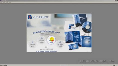 Avery Design Pro Vorlage Erstellen avery design pro lesson 4 basic tools and business cards