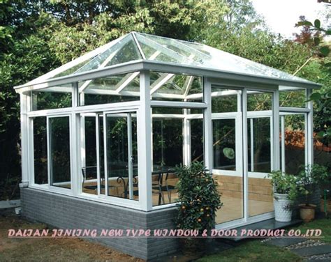 Prefab Sunroom Prefabricated House Glass Sunroom Prefabricated House