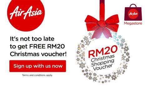 airasia voucher airasia rm20 shopping voucher up for grab travel feeder go