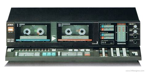 aiwa cassette deck aiwa ad wx220 manual stereo cassette deck