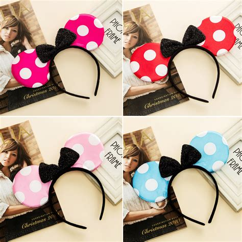 Mimis The Look Stylish Accessories On The Cheap by Popular Minnie Mouse Ears Headband Buy Cheap Minnie Mouse