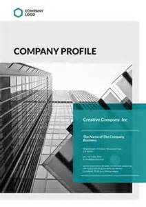 company profile templates and creative on pinterest