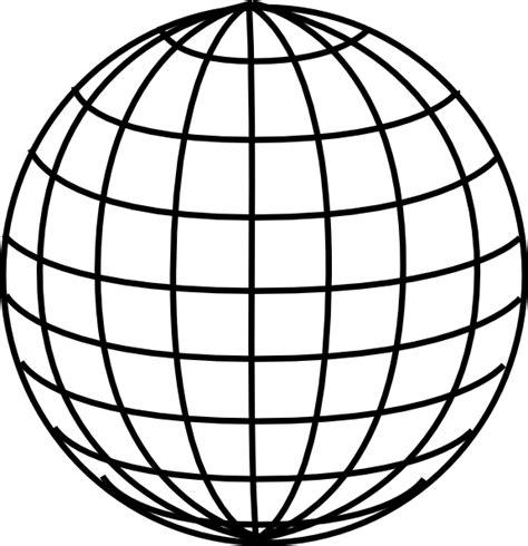 latitude doodle clear globe clip at clker vector clip