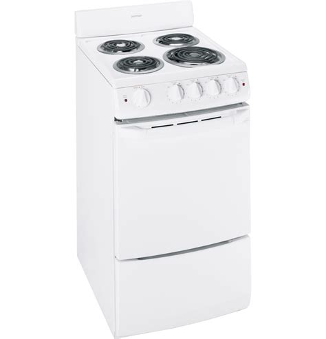 Small Apartment Oven Range Hotpoint Small Apartment Size 20 Quot Freestanding White