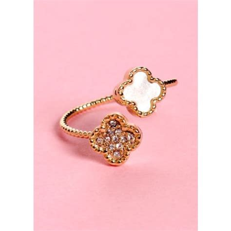 Lulu Jewelry In Up lulu s jewelry new up in charms gold rhinestone ring