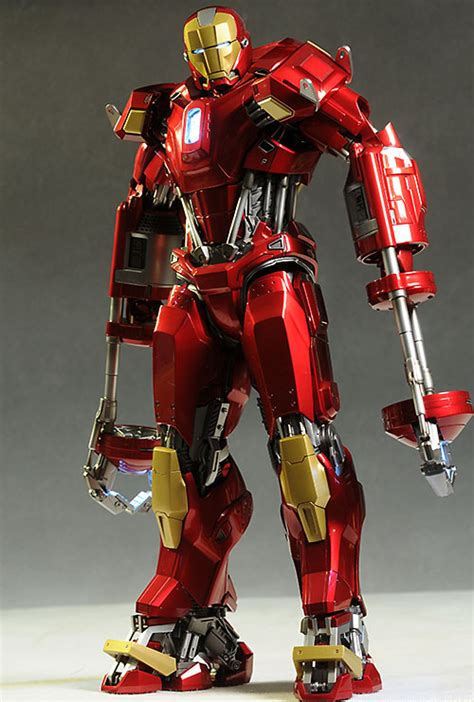 Lego Snapper Ironman Decool 0166 review and photos of toys iron mk35 power pose