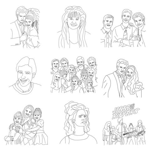 full house colouring book pdf