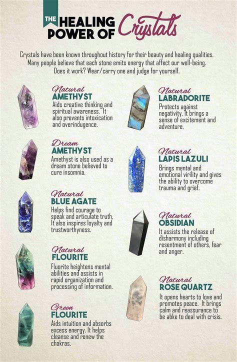 healing power  crystals crystals  gemstones