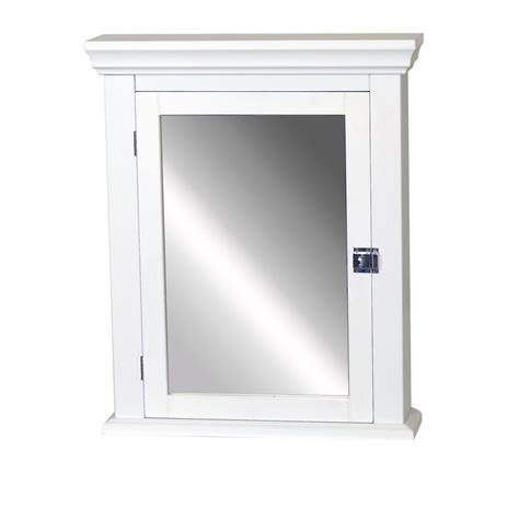 Zenith Early American 22 1 4 In W X 27 In H X 5 7 8 In Zenith Bathroom Wall Cabinet