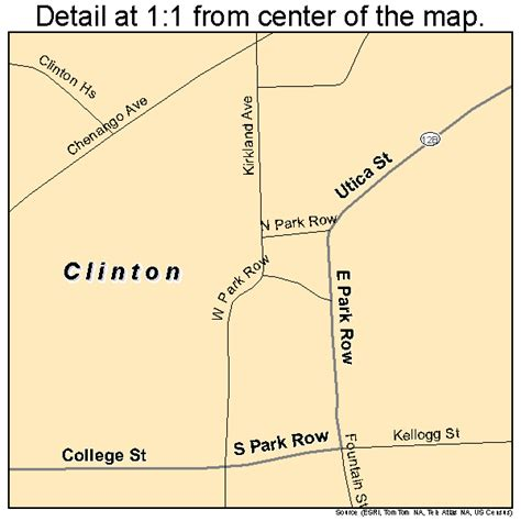 clinton ny clinton new york map 3616419