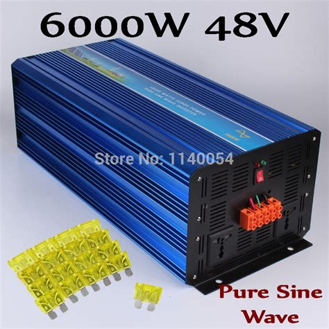 wholesale solar inverter buy wholesale solar inverter 6000w 48v 240v from china solar inverter 6000w 48v 240v