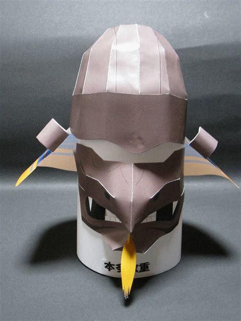Samurai Papercraft - papercraft samurai helmet zunari kabuto papercraft4u
