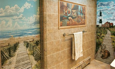 bathroom mural 25 wonderful ideas and pictures ceramic tile murals for