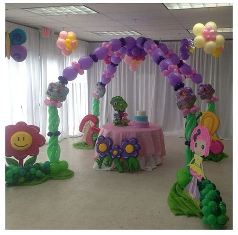 Balloon Arch Decorations by 22 Best Balloon Cake Table Images On
