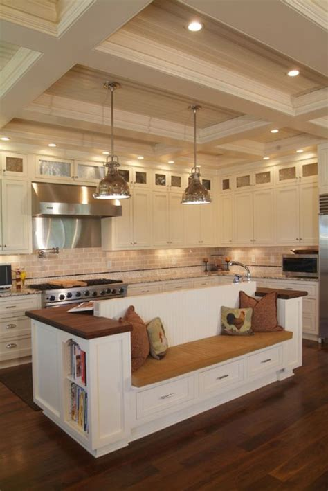 kitchen island benches 55 functional and inspired kitchen island ideas and