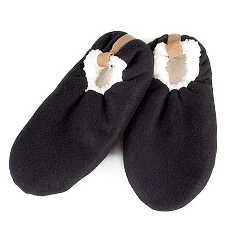 bed bath and beyond slippers men s sherpa slippers bed bath beyond