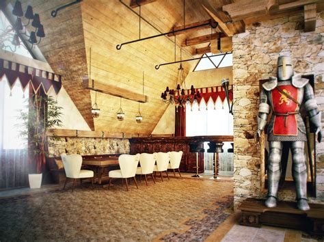 castle themed interiors