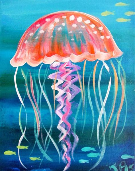 acrylic painting jellyfish 25 best ideas about jellyfish painting on