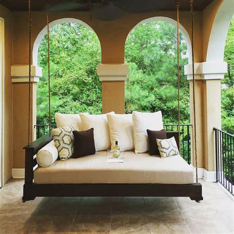 veranda schaukel porch swing the sullivan s island swing bed